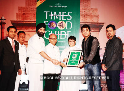 TIMES OF INDIA: Times Food Guide Awards '12 – Winners: Delhi